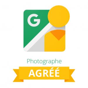 Agence de communication Photographe Agréé Google Logo