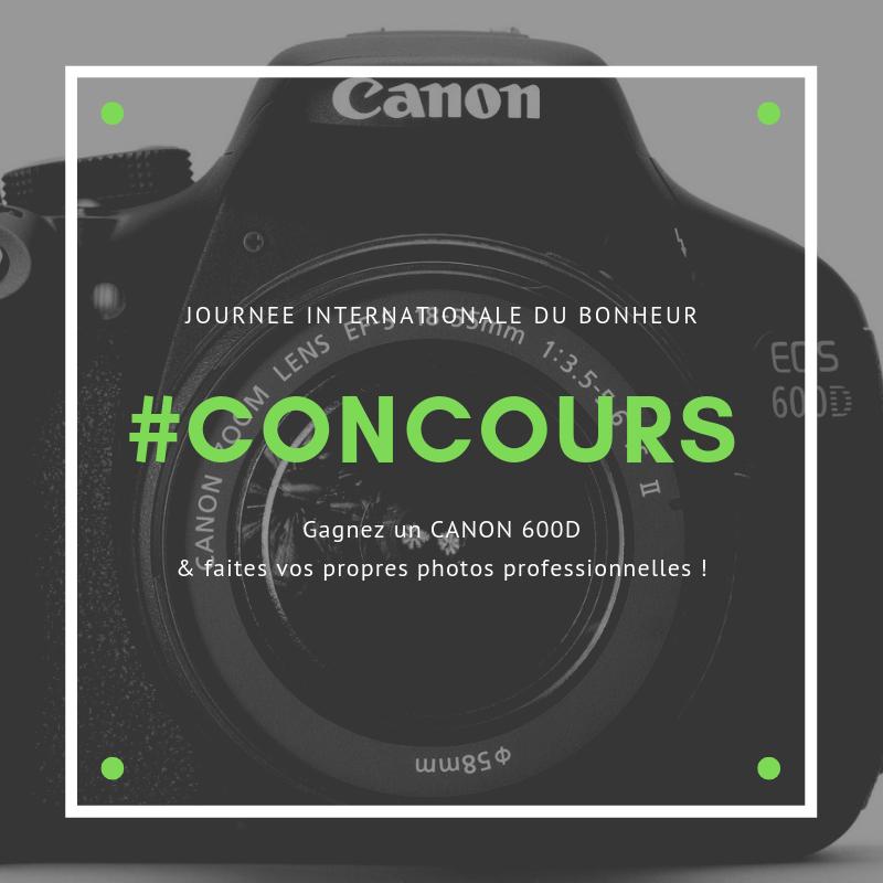 concours canon 600D